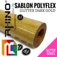 RHINO POLYFLEX RG04 GLITTER DARK GOLD
