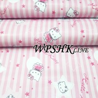 WALLPAPER STICKER WPSHKLINE HELLO KITTY LINE Walpaper Sticker Dinding