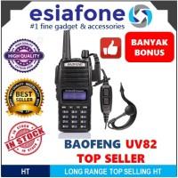 BAOFENG Walkie Talkie UV82 / Radio HT 5W 128CH BF-UV82 Original