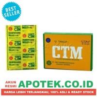 CTM Strip Isi 12 tablet - Obat Alergi, Anti Gatal, Biduran