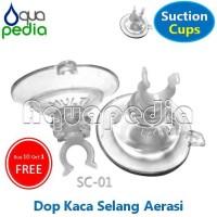AQUARIA SC-01 Dop Kaca Selang Aerasi