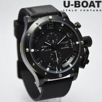 U-BOAT ITALO FONTANA FULL BLACK BALOK ANGKA PUTIH