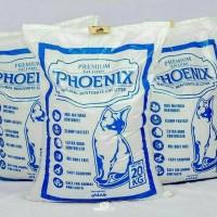 Jual Pasir Gumpal Wangi Phoenix 20KG - Pasir Kucing Murah