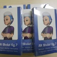 Jual Kartu Muslim Edukasi Animasi AR 4D Sholat 3D (AR Shalat) Gg.7 Murah