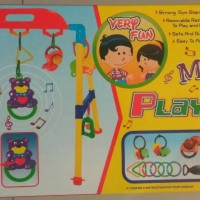 mainan baby MUSICAL playgym musik play gym