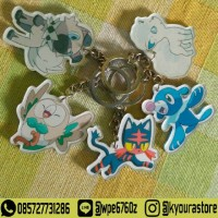 Merchandise Keychain Ganci Akrilik Anime