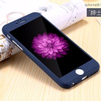 Hardcase 360 Iphone 5/6/6+/7/7+ Full Protect Body Case Casing Cover