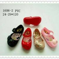 Jelly Shoes Premium Kids Ribbon - Sepatu bayi Sepatu anak Import murah