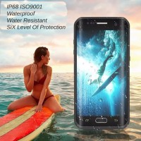 Samsung S7 Edge Bumper Water Resistant Shockproof Case Anti Air
