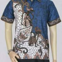 harga Model Baju Batik Modern Pria Kemeja Batik Pekalongan Tokopedia.com