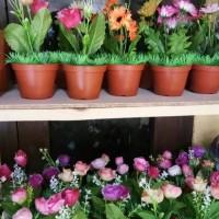 obral bunga murah / tanaman artificial / dekorasi /