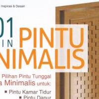 BUKU 101 DESAIN PINTU MINIMALIS ORIGINAL ft