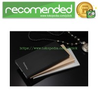 Sinofer Power Bank Super Thin Portable USB 2 Port 12000mAh - Black