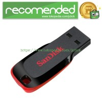 SanDisk Cruzer Blade USB Flash Drive 128GB (SDCZ50-128G) - No Color