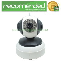 Wireless CCTV with TF Card Slot 1/4 Inch CMOS 720P 4mm - IP1005W - Whi