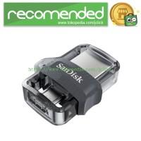Sandisk Ultra Dual OTG Flash Drive M3.0 32GB - SDDD3-32G - Black