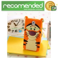 Rubber Case for iPhone 5/5s/SE - A-C-4G - Orange