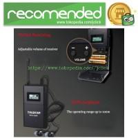 Takstar UHF Wireless Tour Guide System 1 Receiver 1 Transmitter - WTG-