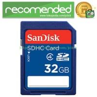 SanDisk Standard SDHC Card Class 4 32GB - SDSDB-032G-BQ35 - No Color