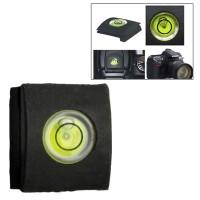Hot Shoe Spirit Level Kamera - Black