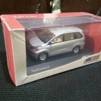 Diecast Toyota Avanza G Silver 1:43 Original Auto2000