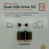 Jual 32GB SanDisk Ultra Dual Drive OTG Flash Drive | Sandisk 32 GB OTG Murah