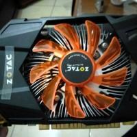 Jual Zotac GTX 750 Ti GTX750 750Ti GDDR5 2GB mulus lengkap Murah