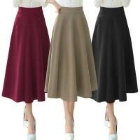 Jual Molly Maxi Flare Skirt(#830)/Rok Panjang/Rok Wanita/Rok Ngembang Murah