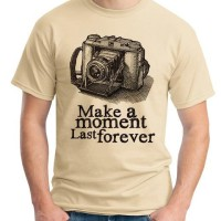 Kaos Oblong Foto Make moment # Tshirt - Baju Distro Camera Photography