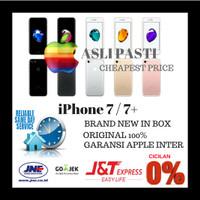 Jual Ready stock iPhone 128gb 7 jet black BNIB garansi apple original Murah