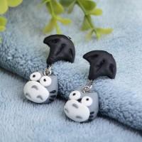 Anting Handmade Clay IMPORT - Totoro (FB012)