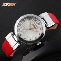 SKMEI Jam Tangan Analog - 9086CL (merah) terlaris
