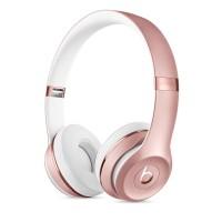 Headphone Bluetooth Beats Solo 3 Wireless Rose Gold