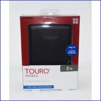 HGST Hitachi Touro 2TB 5400RPM HD HDD Hardisk External 2 5