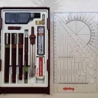 Jual rotring isograph master pen set Murah