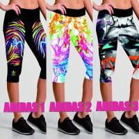 Jual celana legging yoga ,ZUMBA WOMENS ADIDAS RUN CAPRIS 3/4 Murah