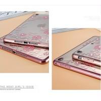 Ipad mini 4 Diamond Flower Soft Case TPU Silicone Cover Casing Cute