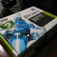 Jual MSI GEFORCE GTX 750Ti OC EDITION 2GB Murah