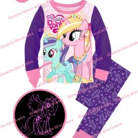S-gw7-i Glow In The Dark - Piyama Anak - My Little Pony
