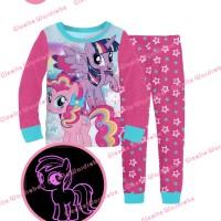 Jual S-GW8-H Glow In The Dark - Piyama Anak - My Little Pony 95-140 Murah