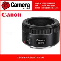 Canon EF 50mm f/1.8 STM /Garansi RESMI / Lensa Bokeh /Lensa Pick