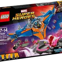 Jual LEGO 76081 THE MILANO vs THE ABILISK GUARDIAN OF THE GALAXY VOL 2 Murah