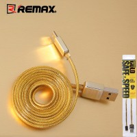 Jual Gold Cable Kabel Data Charger Charging iPhone 5 5s 6 6s Remax Original Murah