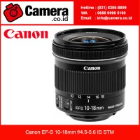Jual Canon EF-S 10-18mm f/4.5-5.6 IS STM /Lensa Canon/lensa Wide Murah