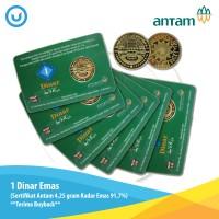 UD - 1 Dinar Emas Antam 4,25 gram Kadar Emas 91,7% - Terima Buyback