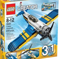 LEGO Creator # 31011 Aviation Adventures Aerial Maneuvers Cockpit Ori
