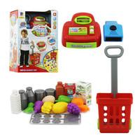 Jual Mini Cash Register/Kasir-kasiran & Supermarket Playset/Shopping Troli Murah
