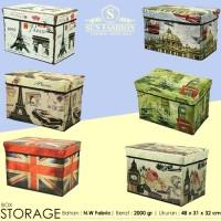 BIG Organizer Storage Box Kotak Tempat Penyimpanan Baju Buku Mainan