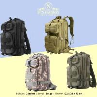 Jual Tas Ransel Tactical Army Pria / Cowok Travel Backpack Bag - 343 Murah