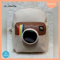 Grosir Tas Wanita Backpack Instagram Lucu